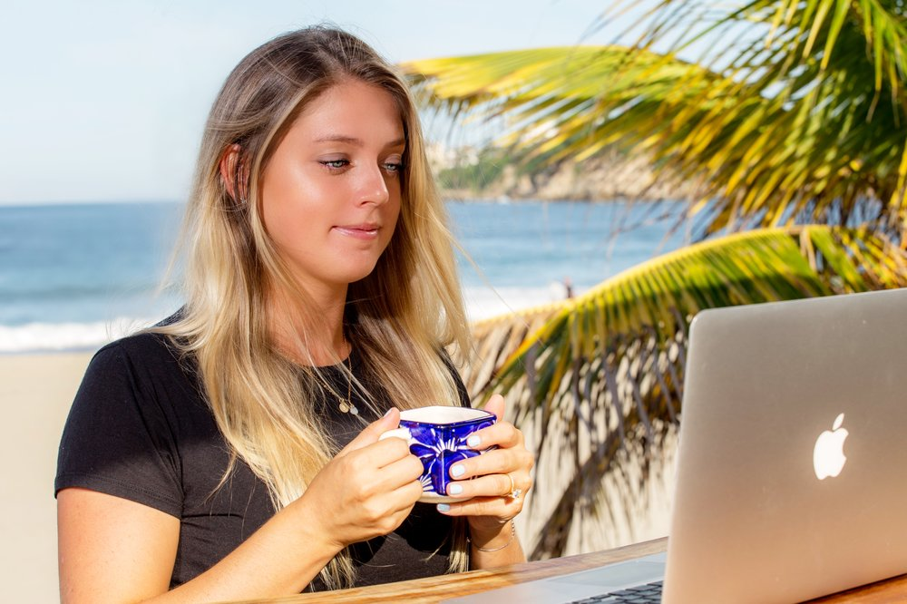 Stumbling into the digital nomad world by accident, Kelly Shogren had created a career around how and where she chooses to live.
