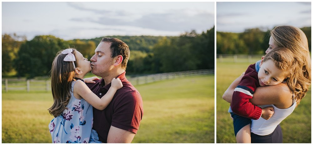 Mommy and Daddy with their twins Fairfield County, Ct Kendra Conroy Photography