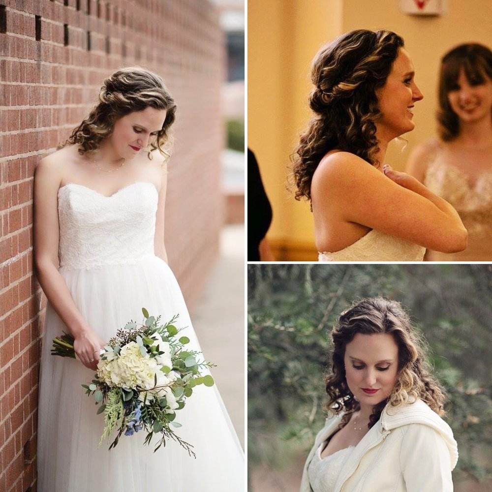 Hair and Makeup by Kylie Youmans, Photography by Elizabeth Weitz of Elizabeth Ann Photography