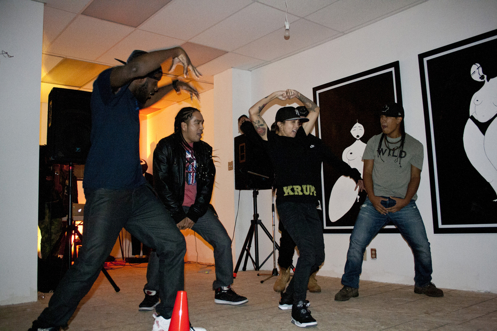 midnight krump performance by BUCC N FLVR