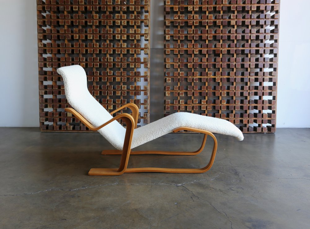 SOLD Early Marcel Breuer Long Chaise Home
