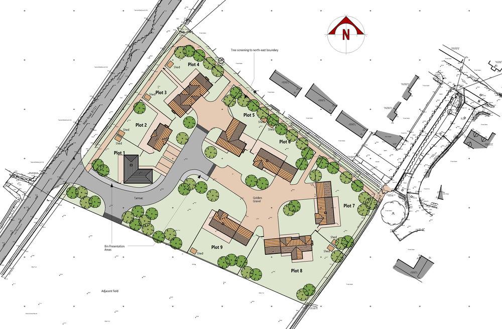 Benhall - 9 House Development