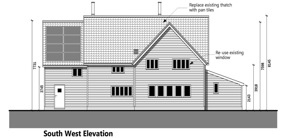 Planning Permission - Suffolk barn-style dwelling achieves planning permission for front extension