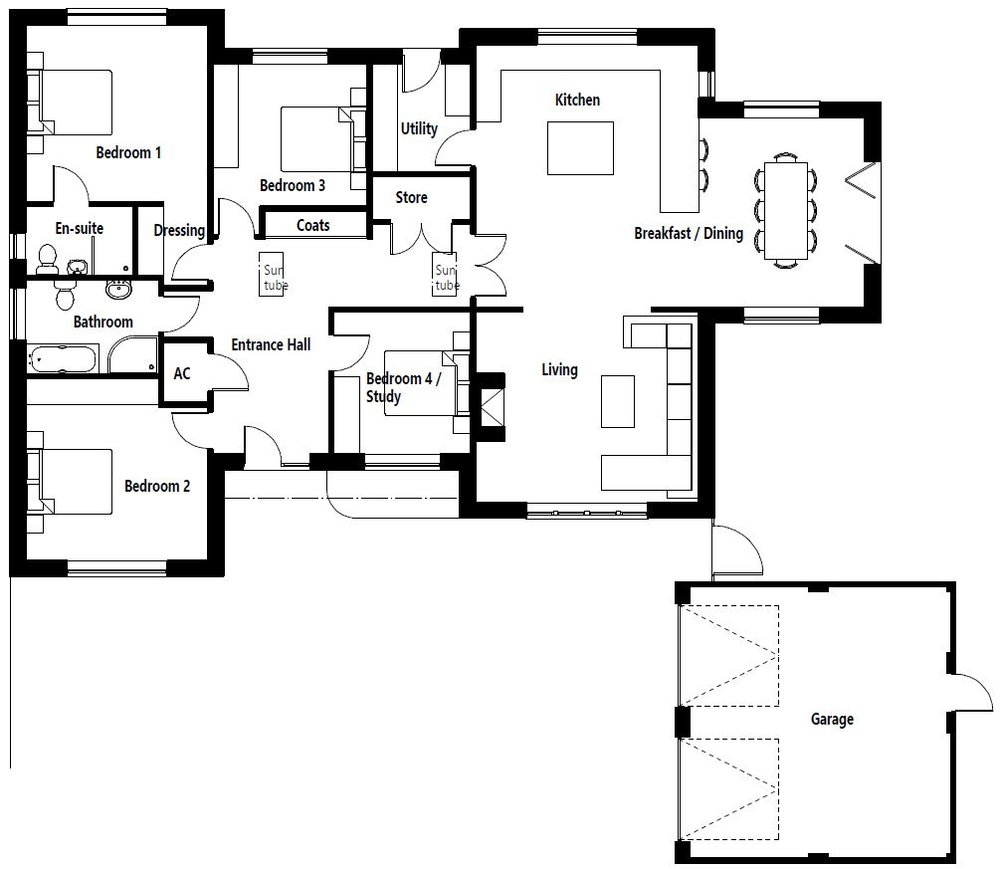 Plot 1 bungalow floor plan.JPG