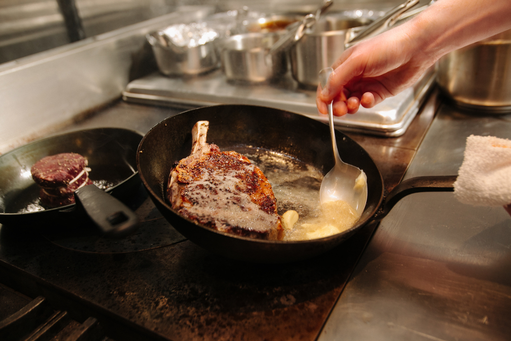 Basting Beef