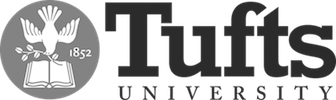 Tufts Logo Png BW.png