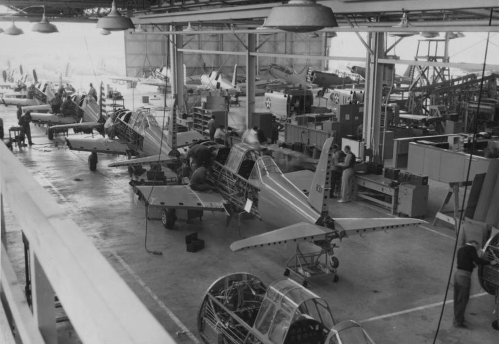 Vultee Aircraft Production