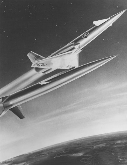 Navaho X-10 at booster seperation