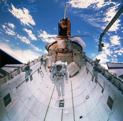 Astronaut in Space Shuttle's Cargo Bay 4 6 84.jpg