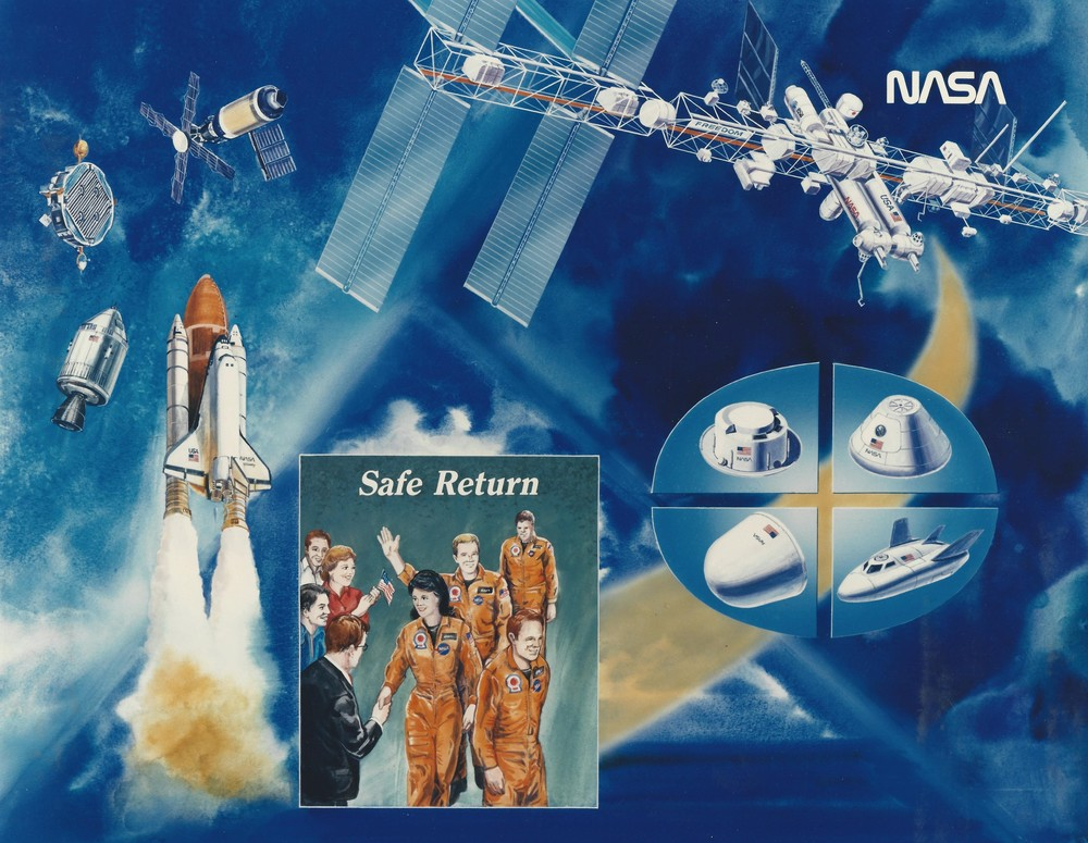 NASA Safe Return poster Shuttle ISS etc.jpg