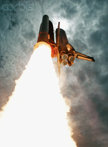 The space shuttle Columbia launches on Space Shuttle Mission STS-47 in June 1992..jpg