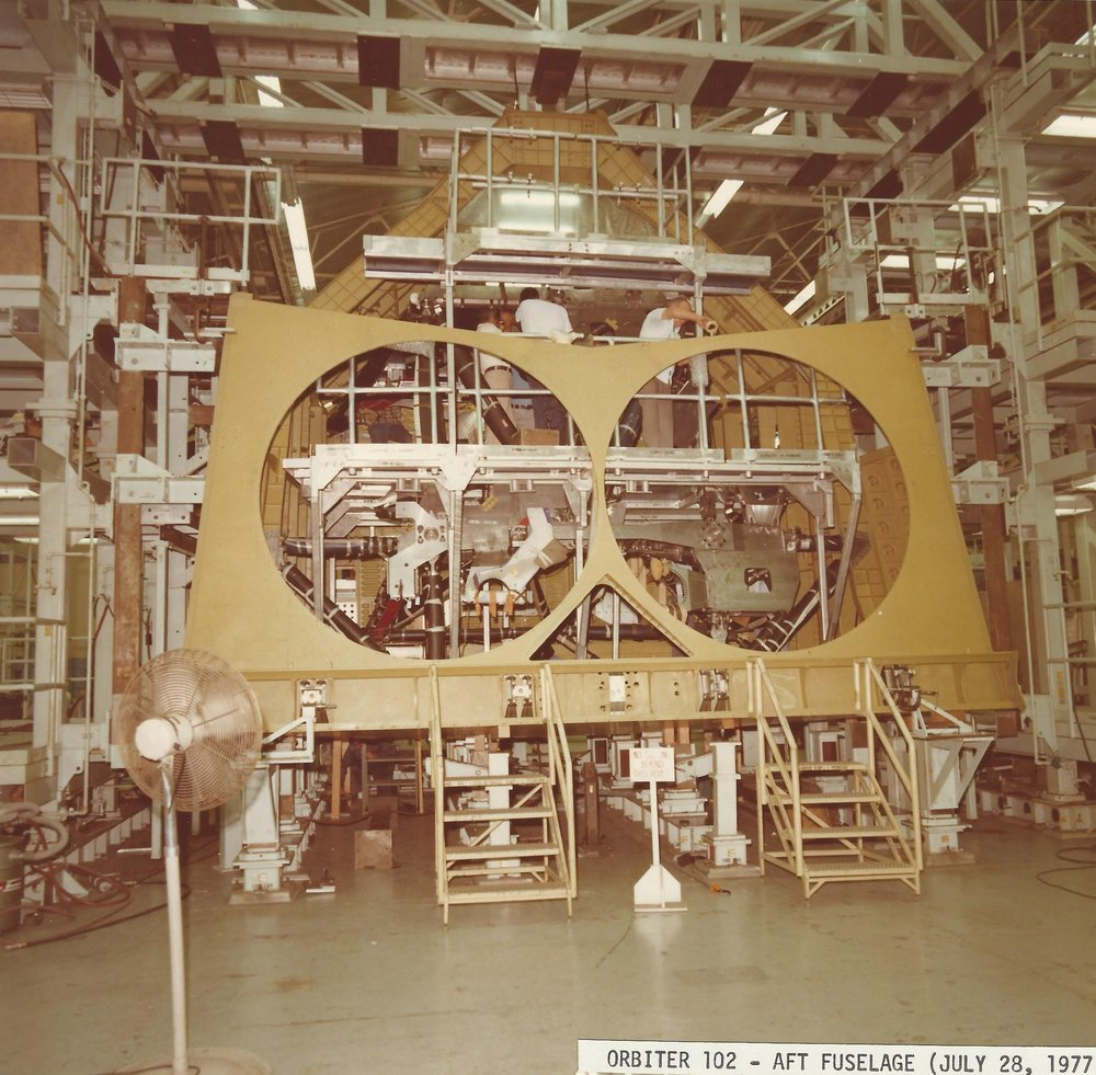 Orbiter 102 Crew Module April 1977 sub-system development a Dow 1.jpg