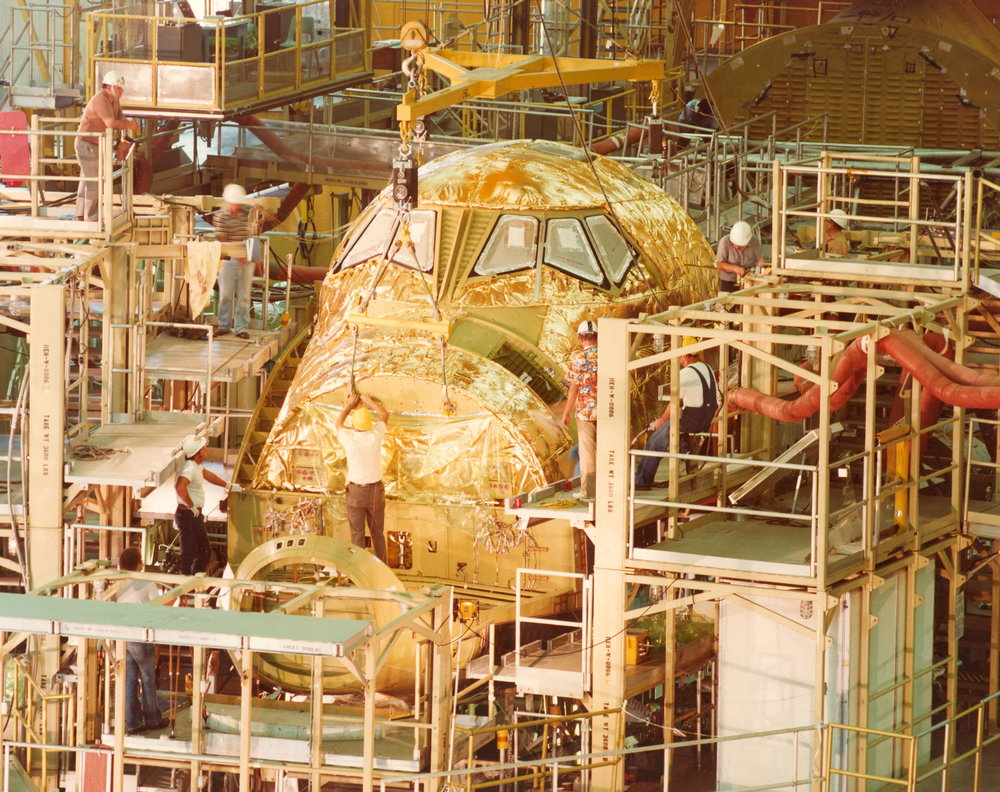 orbiter crew compartment under construction.jpg