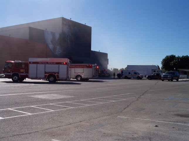 Downey Fire Dept. at Downey Studios 2008- Photo- Larry Latimer