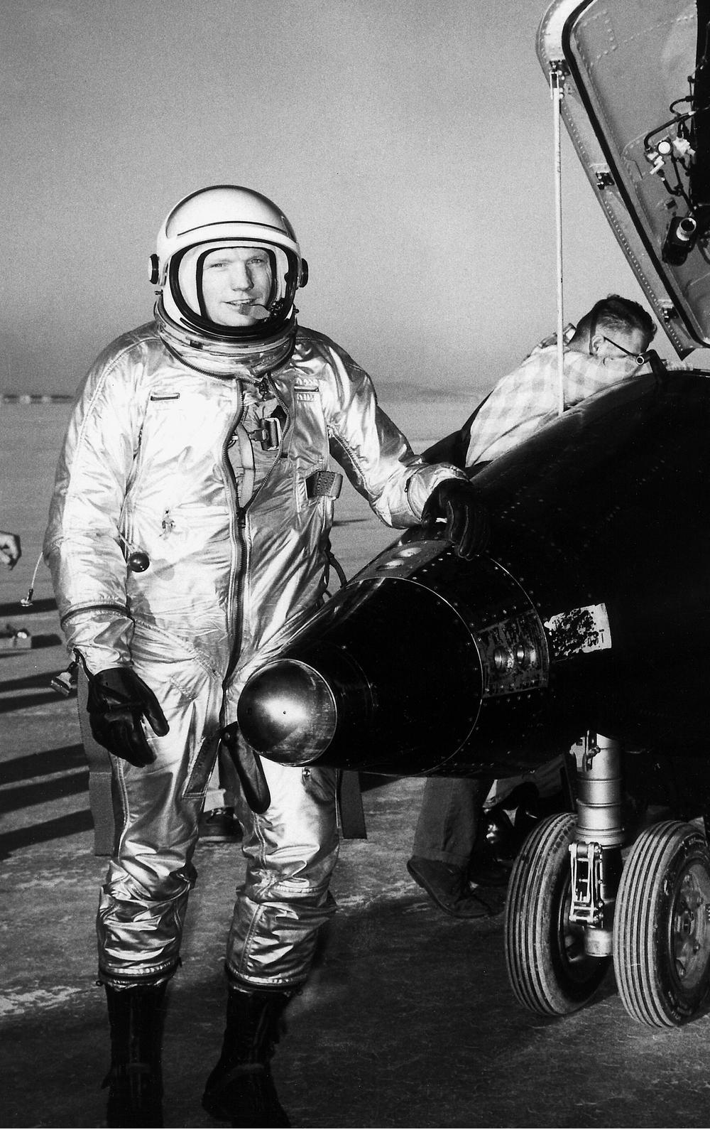Pilot Neil Armstrong