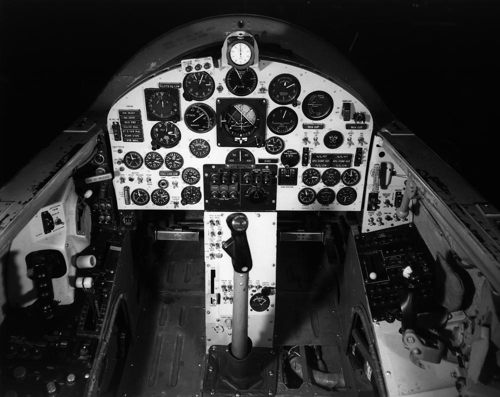 X-15 cockpit (NASA)