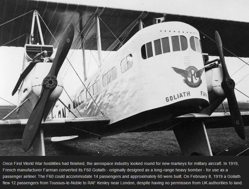 Once First World War hostilities had finished, the aerospace industry looked round for new markeys for military aircraft. In 1919, French manufacturer ..jpg