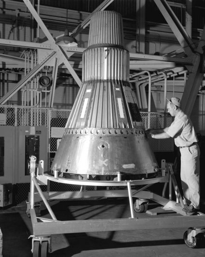 Project mercury Capsule 2 at NASA Lewis Research Center 1959