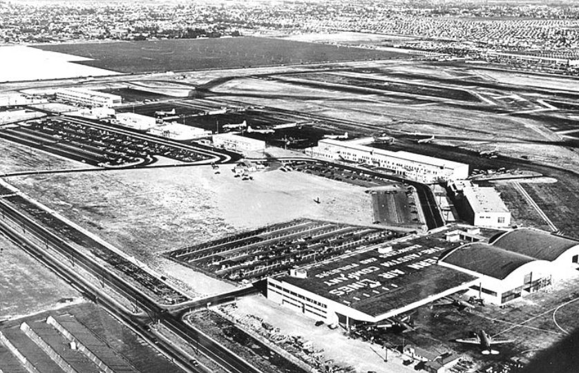 LAX The intermediate facilities after completion in 1947
