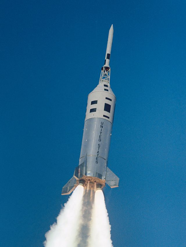 Apollo- Little Joe II lift-off in 1964
