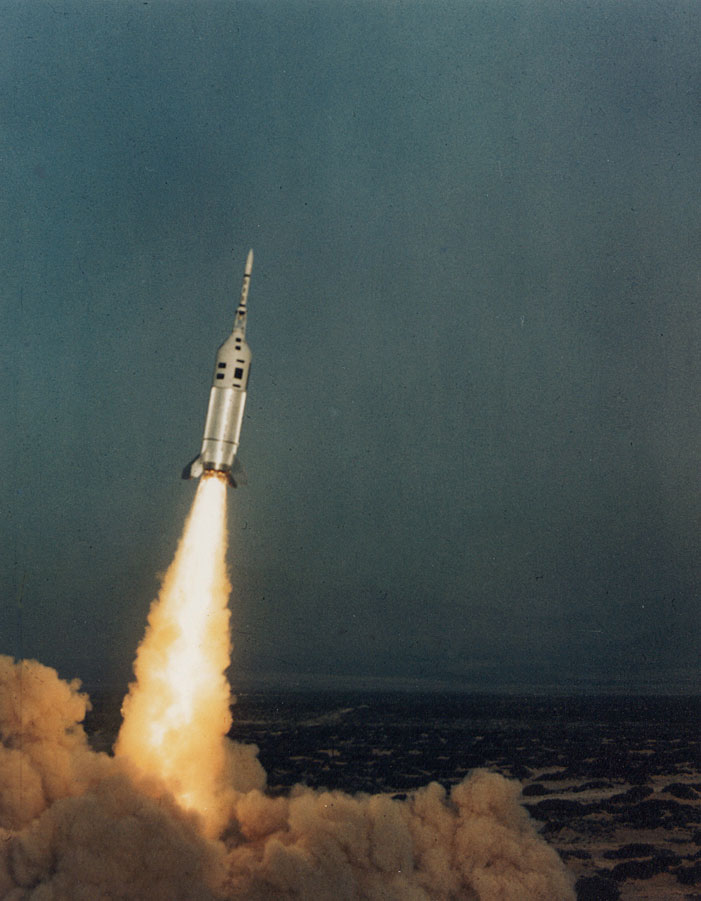 Little Joe launch May 13, 1964