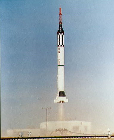 Launch of Mercury-Redstone