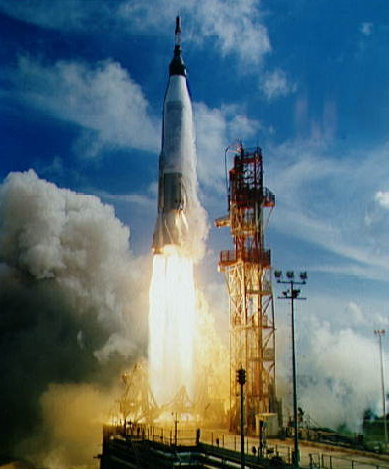 Launch of the Mercury-Atlas 4