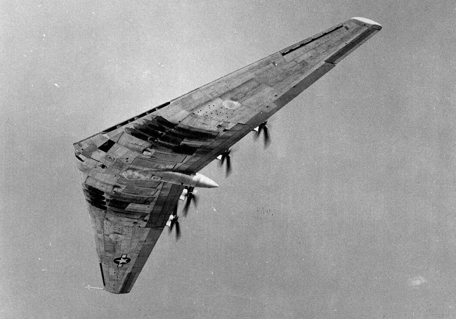 Northrop XB-35 in flight