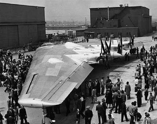 The aircraft flew in June 1946, over two and a half years behind schedule..jpg