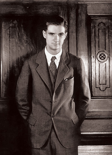 A young Howard Hughes