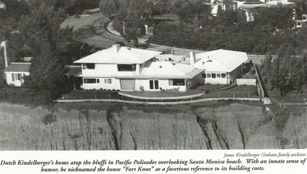 Kindelberger home in Pacific Palisades