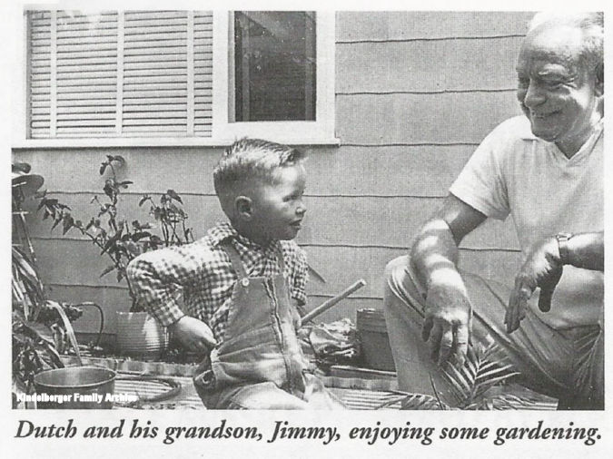 """Jimmy"" Graham and grandfather ""Dutch"""