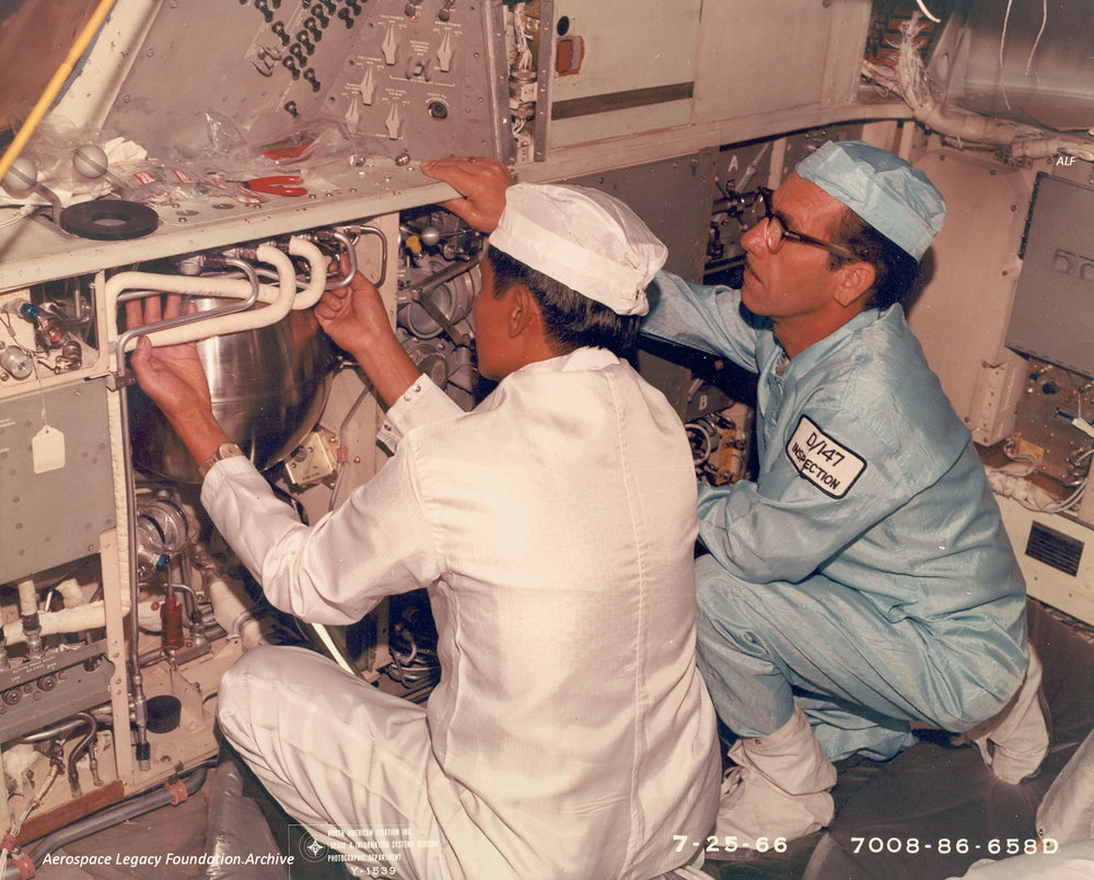 Command Module work July 26, 1966