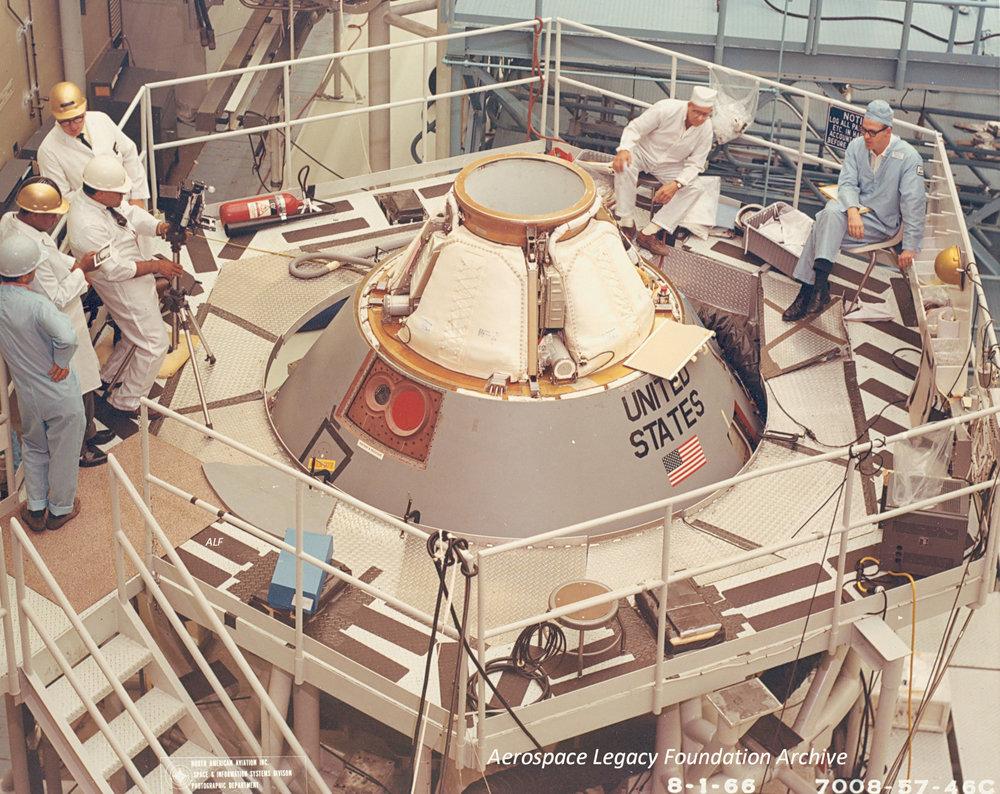 Command module work 1966