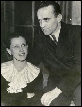 Sylvia Parker Vultee and husband Jerry Vultee