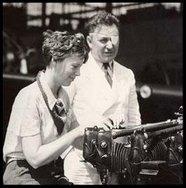 Amelia Earhart & Wiley Post