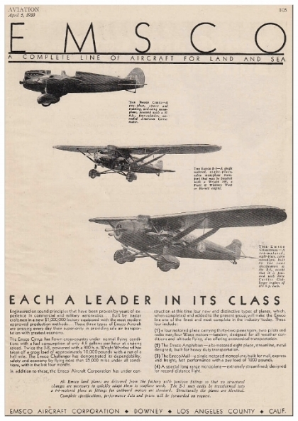 EMSCo aircraft flyer