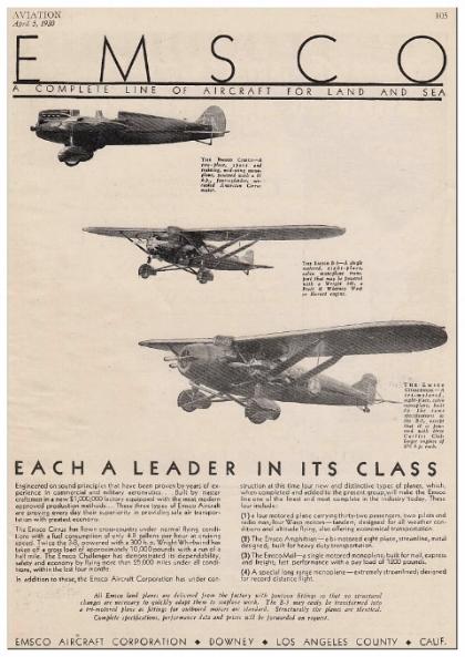 EMSCo aircraft flyer