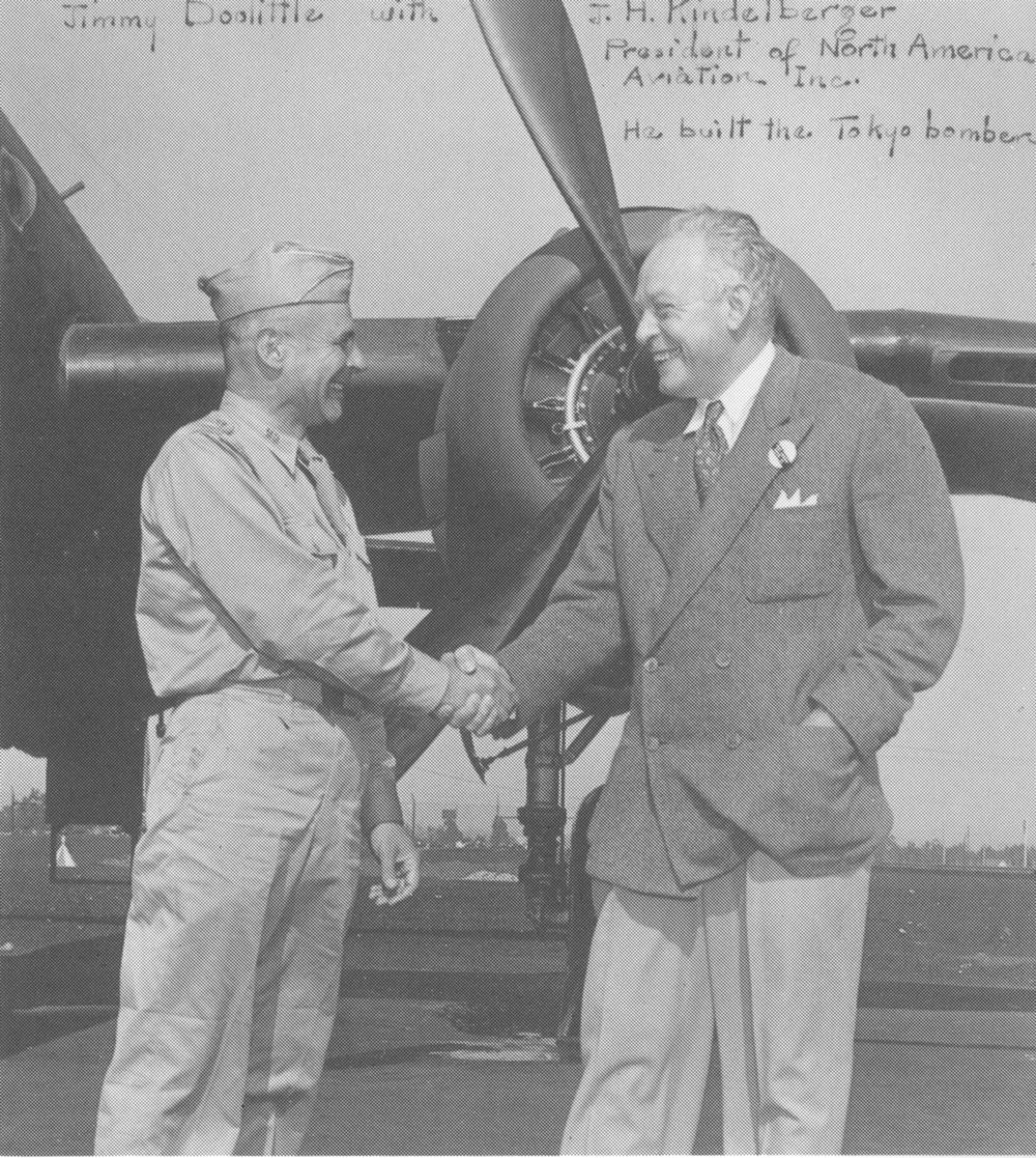 General Jimmy Doolittle and good friend Dutch Kindelberger