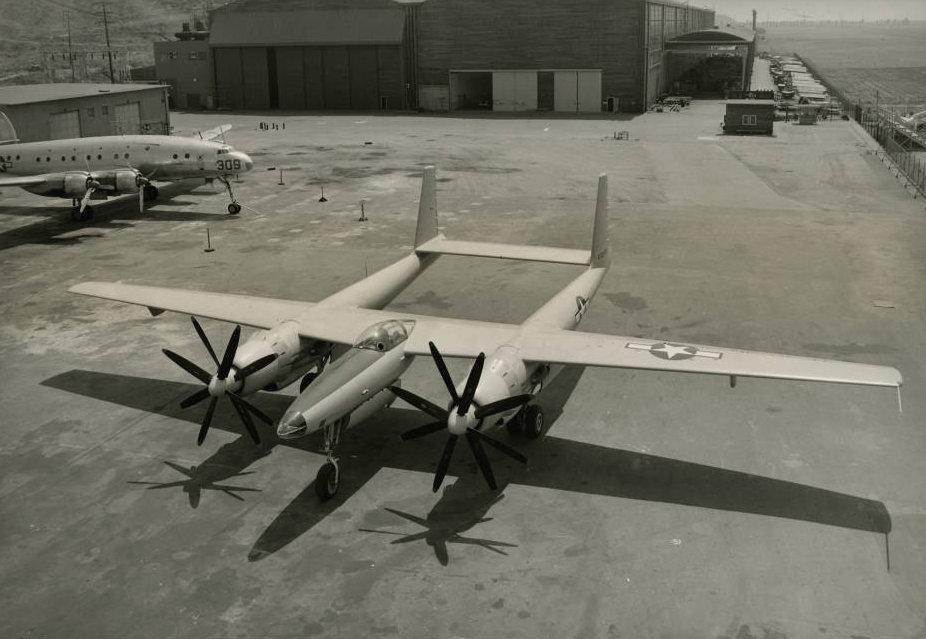 XF-11 plane