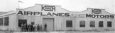 Kinner factory in Glendale, CA