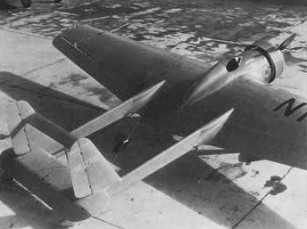 Emsco Flying Wing in 1930.