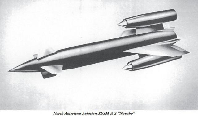 North American Aviation XSSM-A-2 Navaho (NAA Bald Eagles)