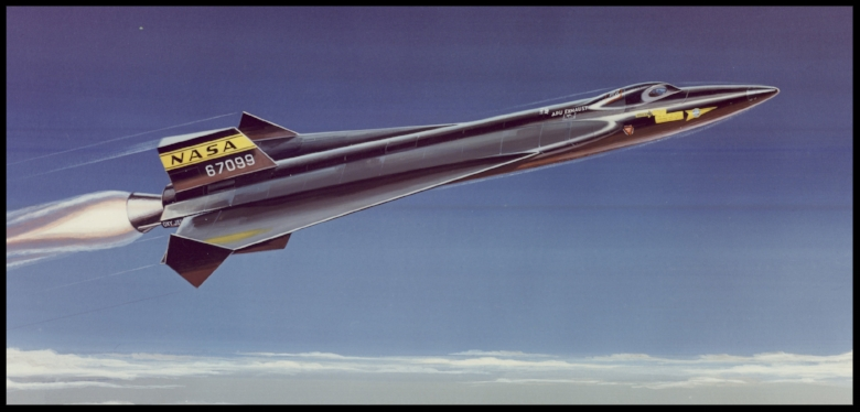 North American Aviation  X-15  delta wing concept.