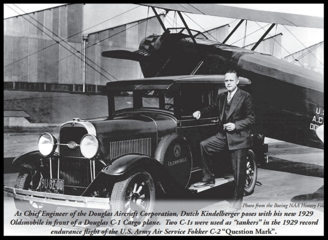 Dutch Kindelberger at Douglas Aircraft Corporation. Image- Boeing NAA History Files. Courtesy- NAA Bald Eagles, more here...