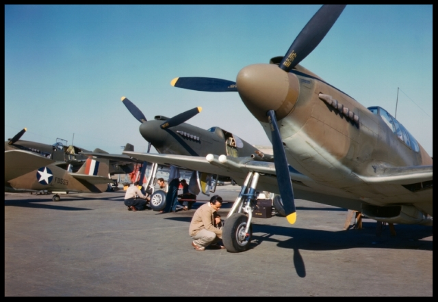 NAA    P-51A    at Inglewood plant