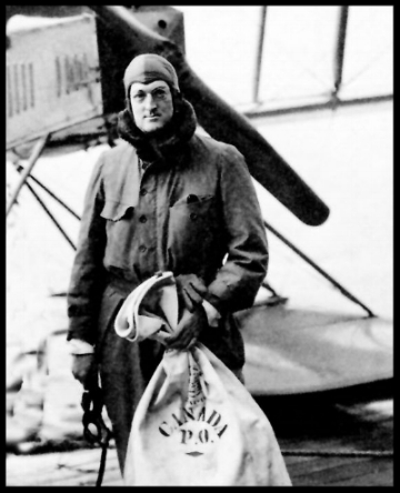 William Boeing with mail crop