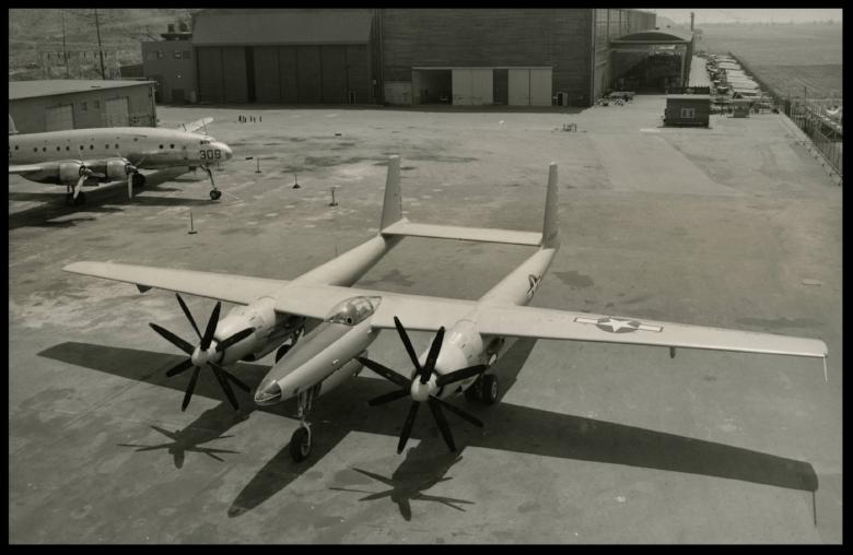 Hughes XF-11 44-70155 at Culver City, California, 7 July 1946