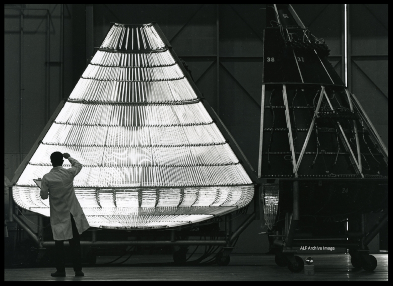 Apollo Capsule Heat and Cold Testing-  Image- Boeing