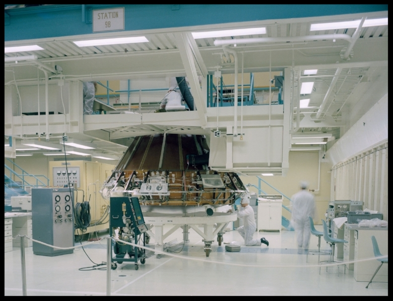 Documentary views of Apollo manufacturing at the North American- Rockwell, Downey, Calif facility 1-31-1968. Image- NASA
